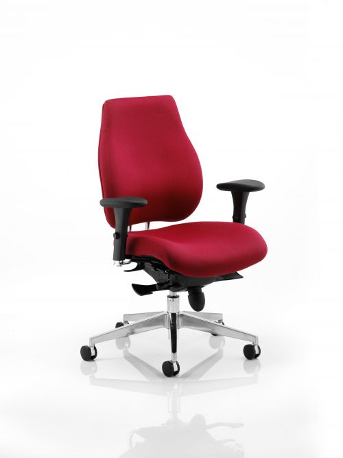 Chiro Plus Chair Wine with Arms PO000018