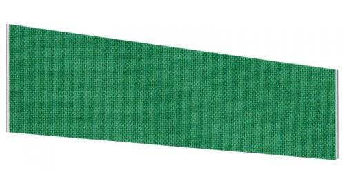 Impulse Plus Angle 450/1200 Desktop Screen Palm Green Fabric Light Grey Edges