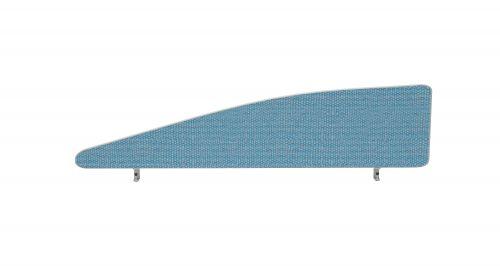 Impulse Plus Angle 450/1400 Desktop Screen Sky Blue Fabric Light Grey Edges