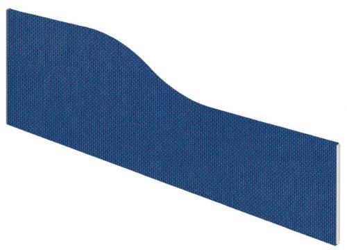 Impulse Plus Wave 450/1500 Desktop Screen Powder Blue Fabric Light Grey Edges