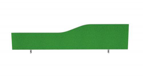 Impulse Plus Wave 450/1600 Desktop Screen Palm Green Fabric Light Grey Edges