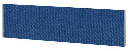 Impulse Plus Oblong 450/1800 Desktop Screen Powder Blue Fabric Light Grey Edges