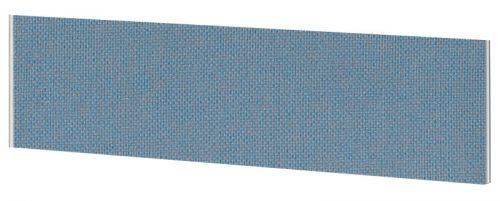 Impulse Plus Oblong 450/1800 Desktop Screen Sky Blue Fabric Light Grey Edges