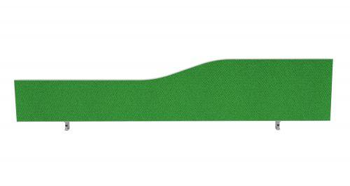 Impulse Plus Wave 450/1800 Desktop Screen Palm Green Fabric Light Grey Edges