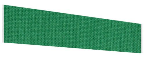 Impulse Plus Angle 450/1800 Desktop Screen Palm Green Fabric Light Grey Edges