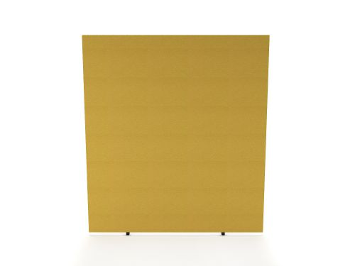 Impulse Plus Oblong 1800/600 Floor Free Standing Screen Beige Fabric Light Grey Edges