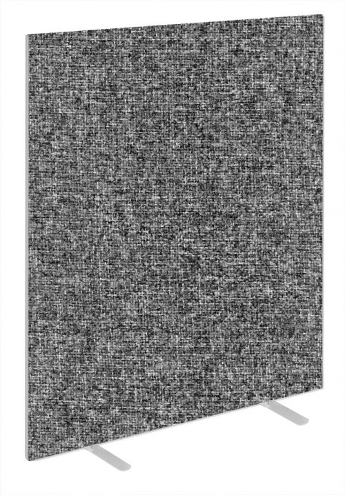Impulse Plus Oblong 1800/1400 Floor Free Standing Screen Lead Fabric Light Grey Edges