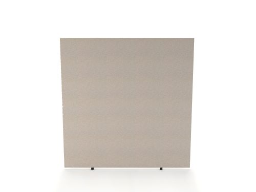 Impulse Plus Oblong 1650/800 Floor Free Standing Screen Light Grey Fabric Light Grey Edges