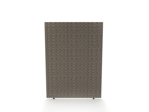 Impulse Plus Oblong 1500/800 Floor Free Standing Screen Lead Fabric Light Grey Edges