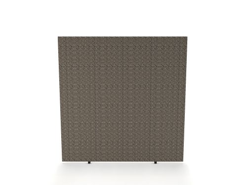 Impulse Plus Oblong 1500/1400 Floor Free Standing Screen Lead Fabric Light Grey Edges