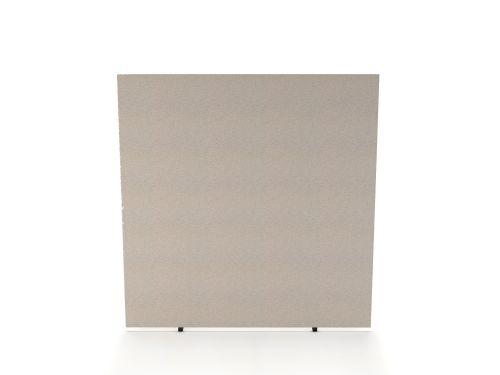 Impulse Plus Oblong 1500/1500 Floor Free Standing Screen Light Grey Fabric Light Grey Edges