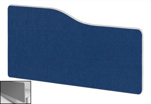 Impulse Plus Wave 400/600 Backdrop Screen Rounded Corners Powder Blue Fabric Light Grey Edges