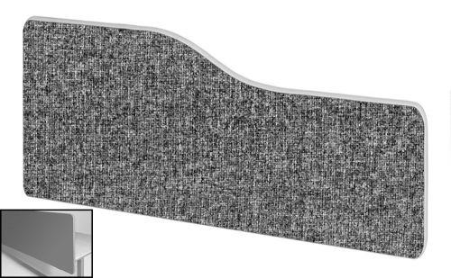 Impulse Plus Wave 400/1000 Backdrop Screen Rounded Corners Lead Fabric Light Grey Edges