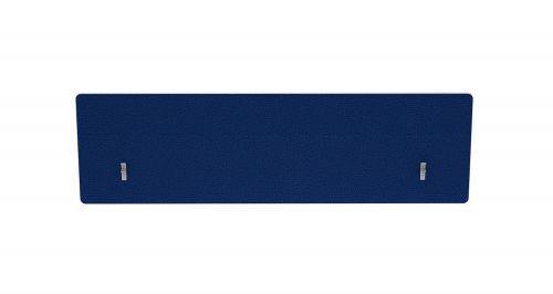Impulse Plus Oblong 400/1400 Backdrop Screen Rounded Corners Powder Blue Fabric Light Grey Edges