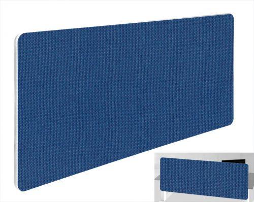 Impulse Plus Oblong 400/1600 Backdrop Screen Rounded Corners Powder Blue Fabric Light Grey Edges