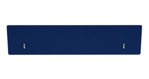 Impulse Plus Oblong 400/1800 Backdrop Screen Rounded Corners Powder Blue Fabric Light Grey Edges