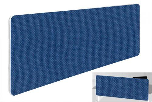 Impulse Plus Oblong 300/1000 Backdrop Screen Rounded Corners Powder Blue Fabric Light Grey Edges