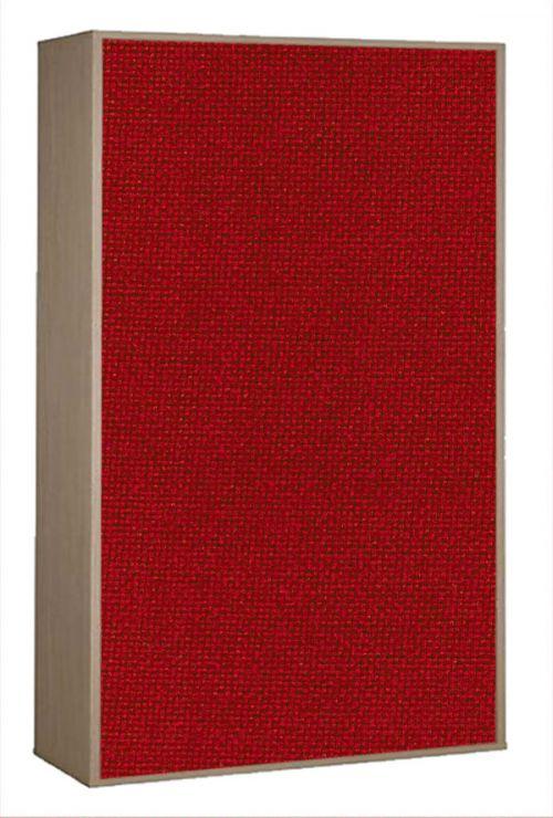 Impulse Plus Oblong 1516/756 Impulse Acoustic Baffles Burgundy Fabric