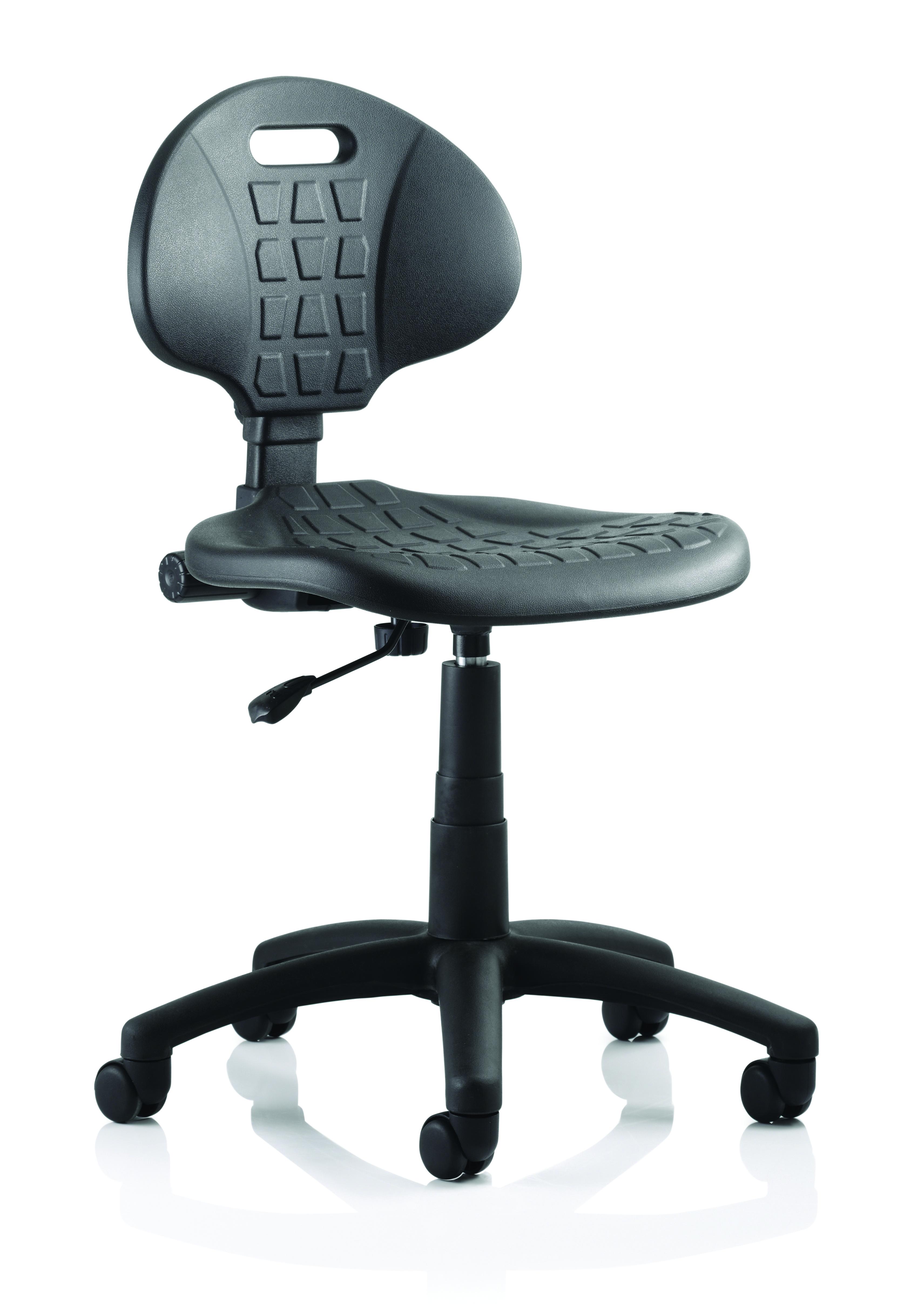 Desk Chairs Malaga Wipe Clean Chair Black OP000088