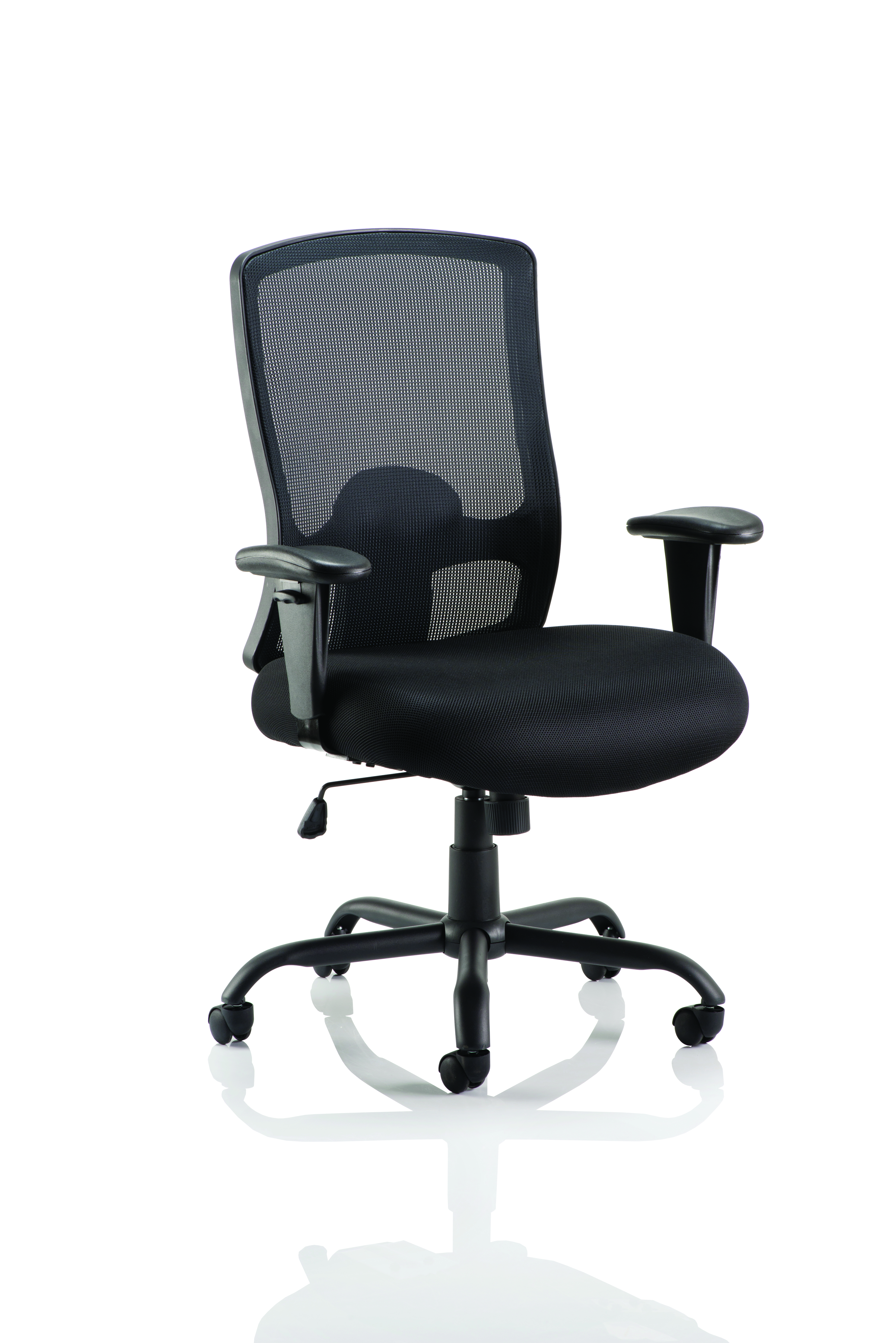 Desk Chairs Portland HD Chair Black Mesh With Arms OP000106