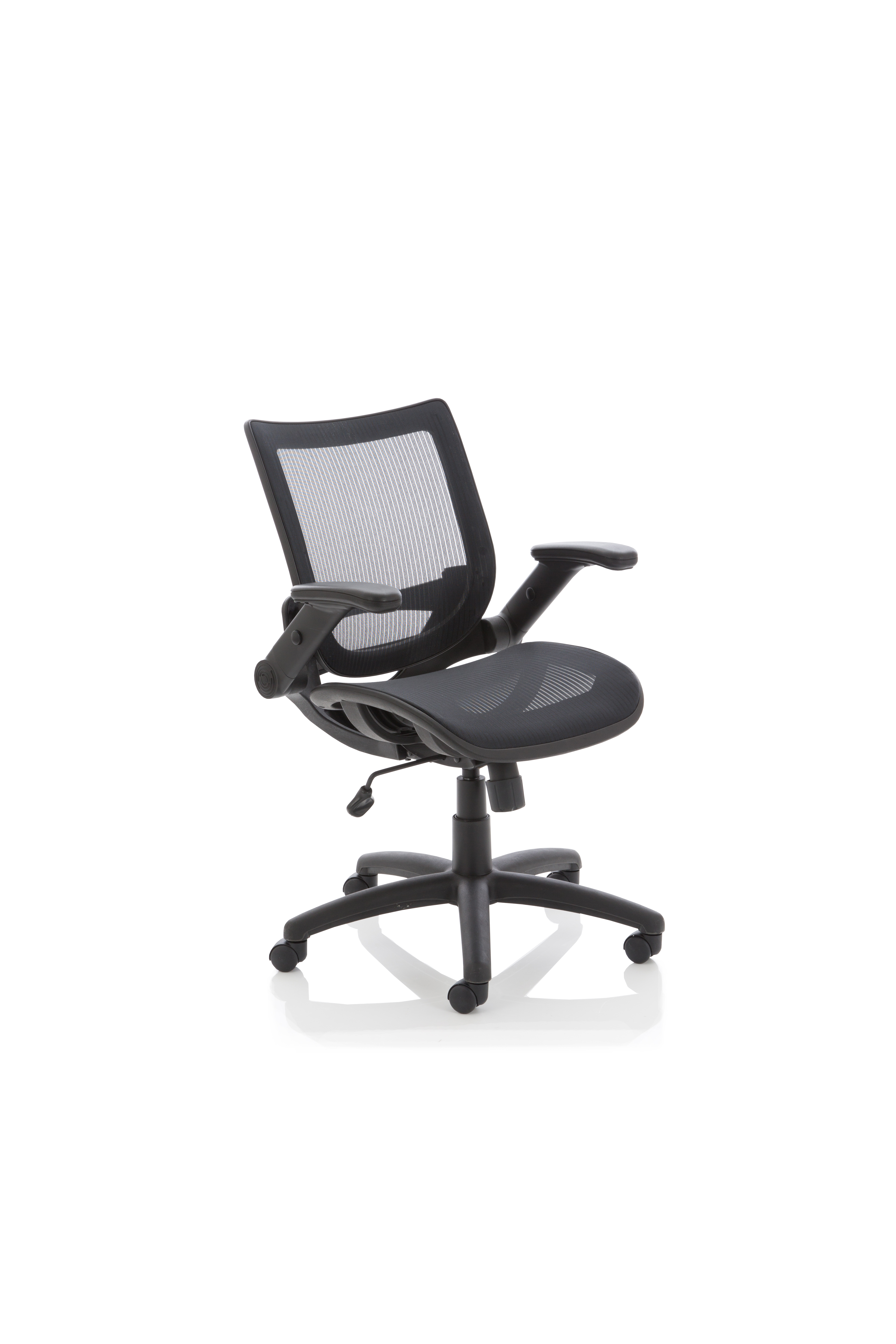 Desk Chairs Fuller Mesh With Folding Arms Task Operator Chair OP000210