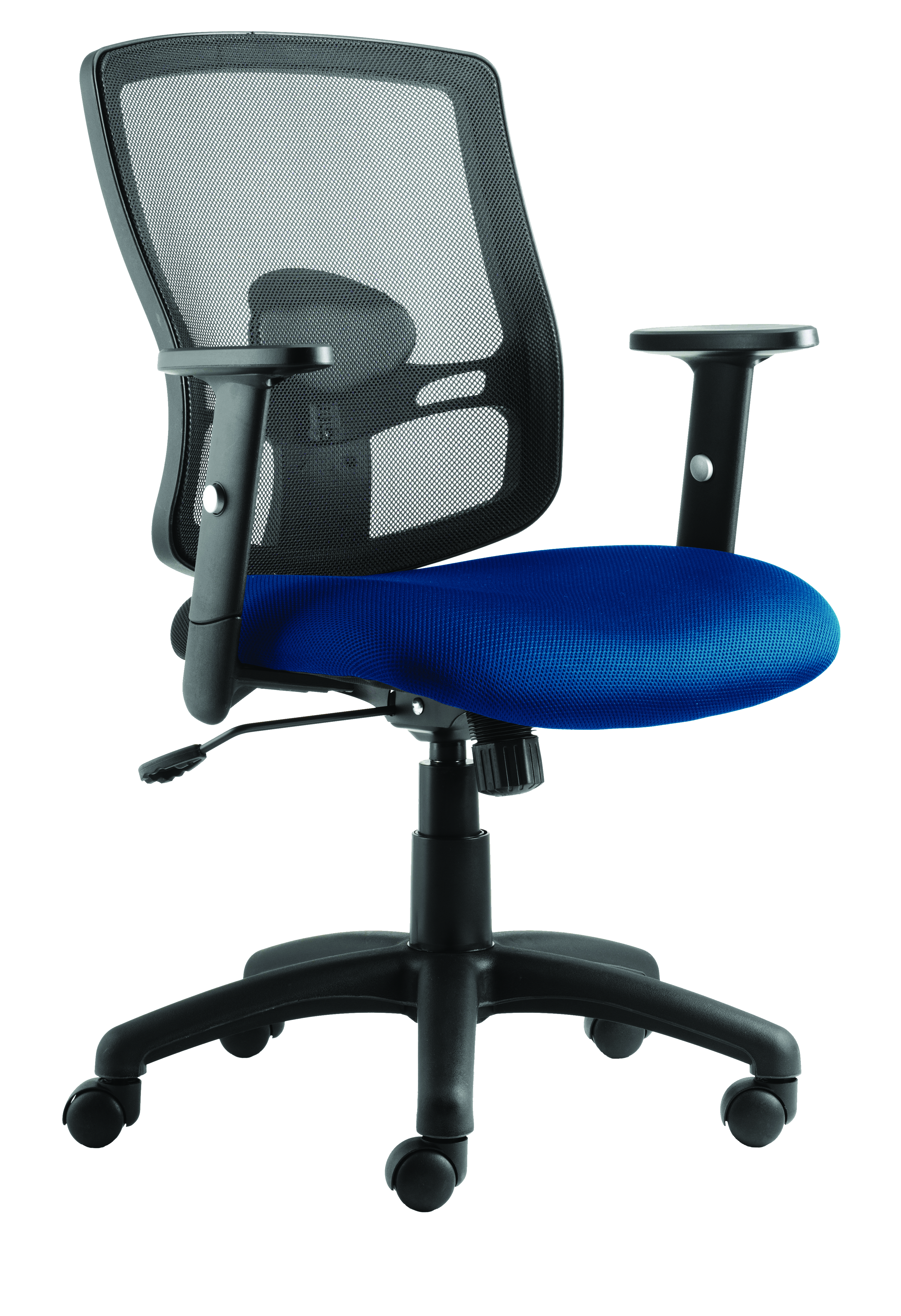 Desk Chairs Portland Chair Blue Seat With Arms OP000219