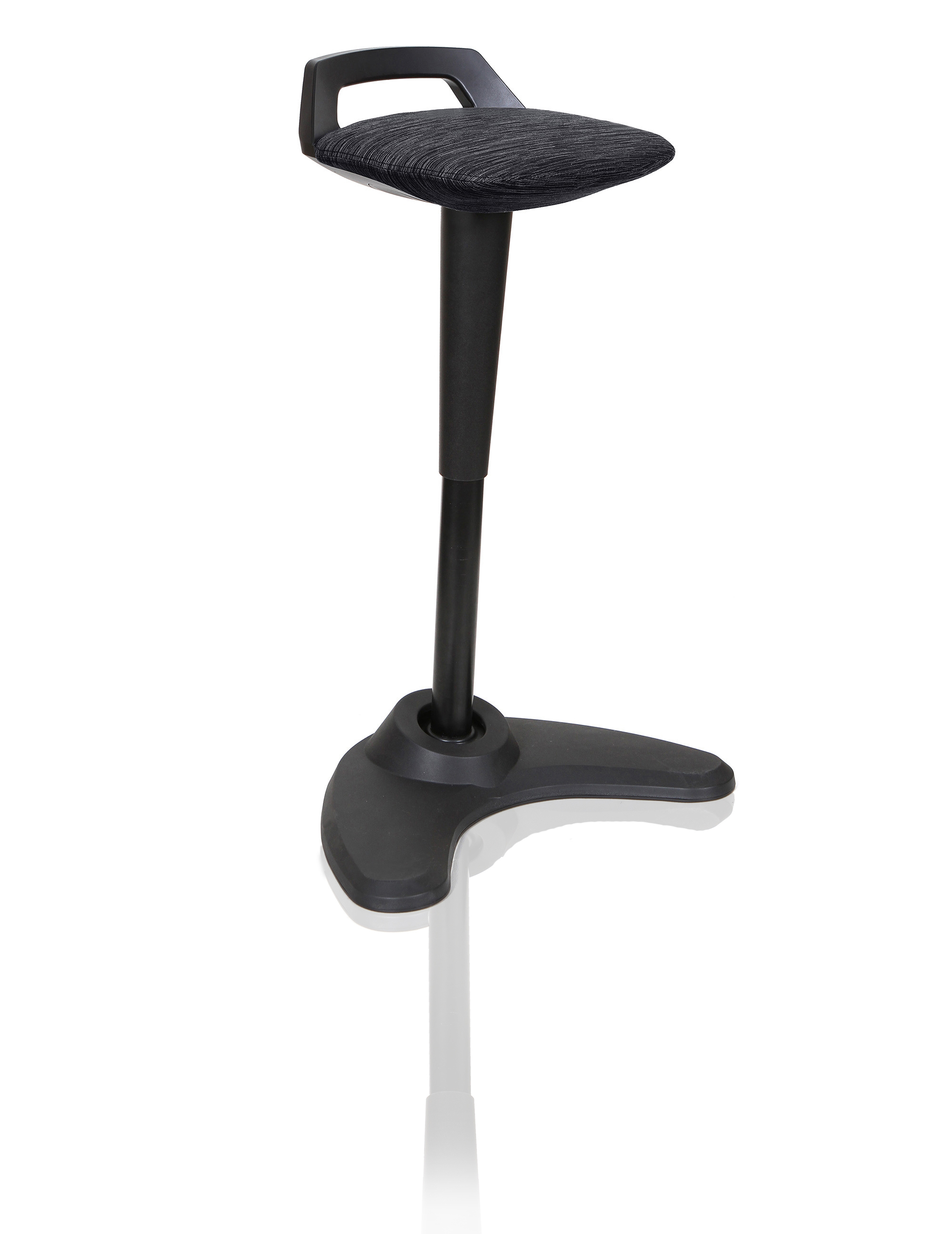 Step Stools Spry Stool Black Frame Black Fabric OP000220