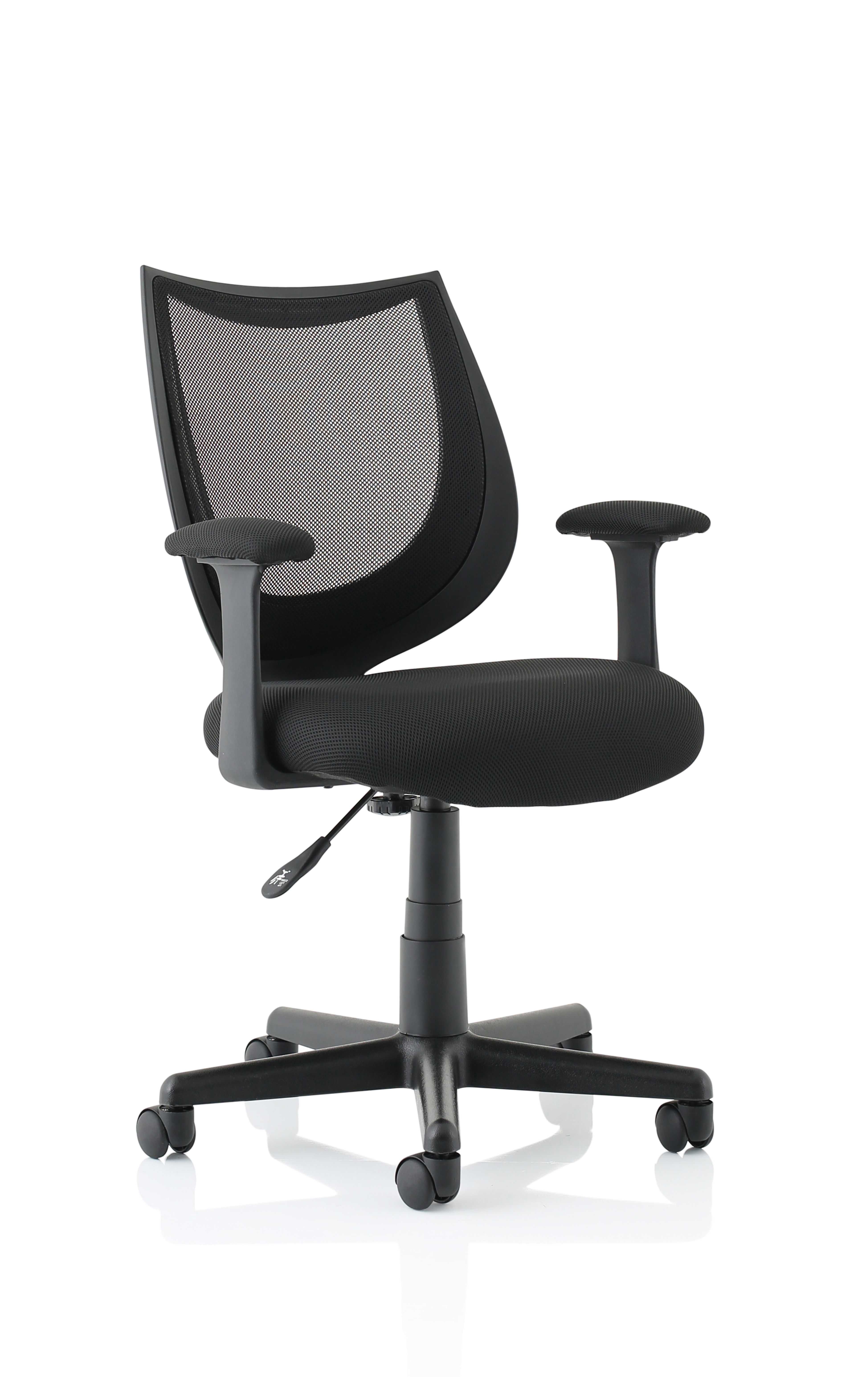 Camden Mesh Chair with Arms Black