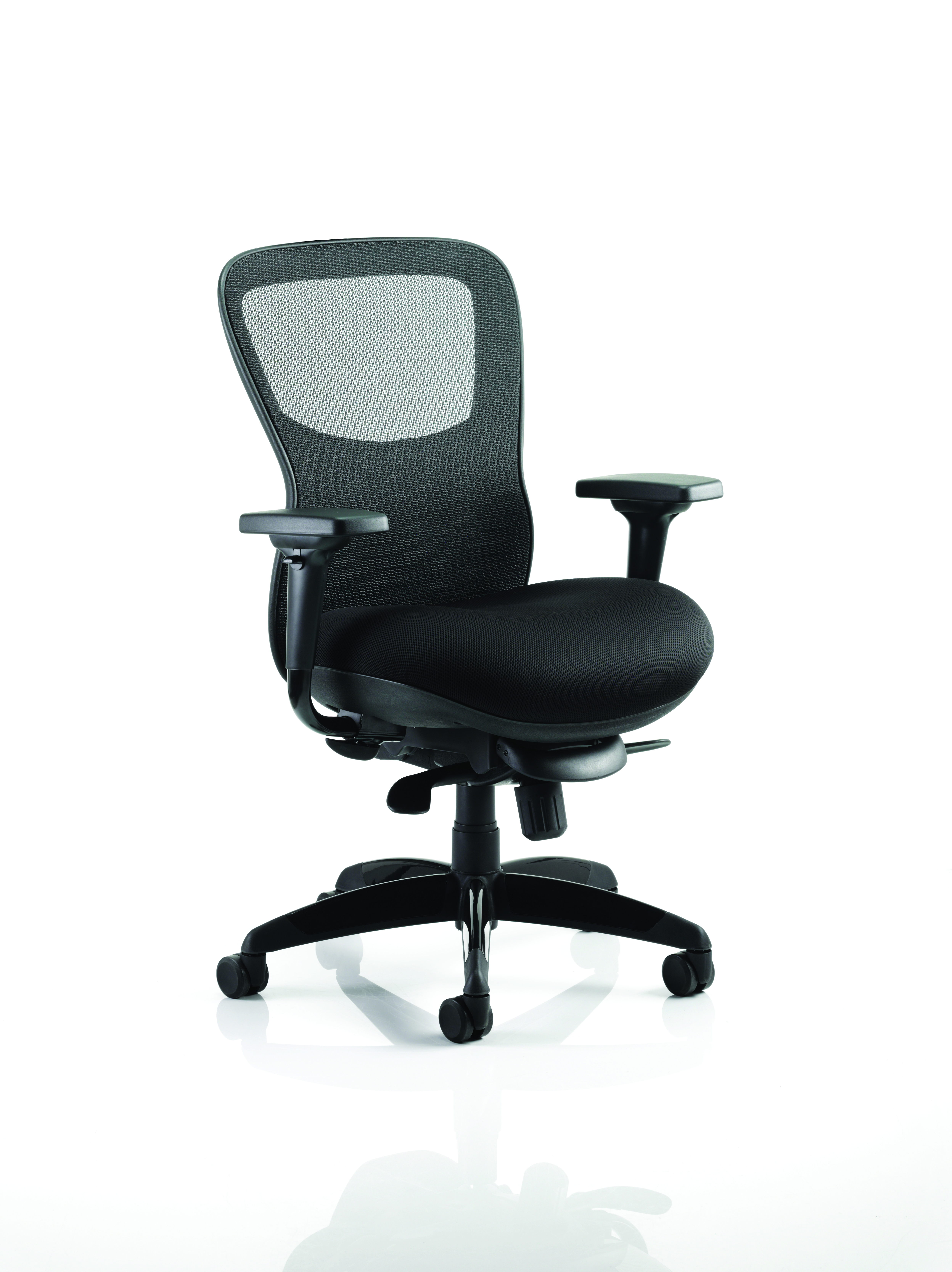 Desk Chairs Stealth Chair Airmesh Seat And Mesh Back PO000019
