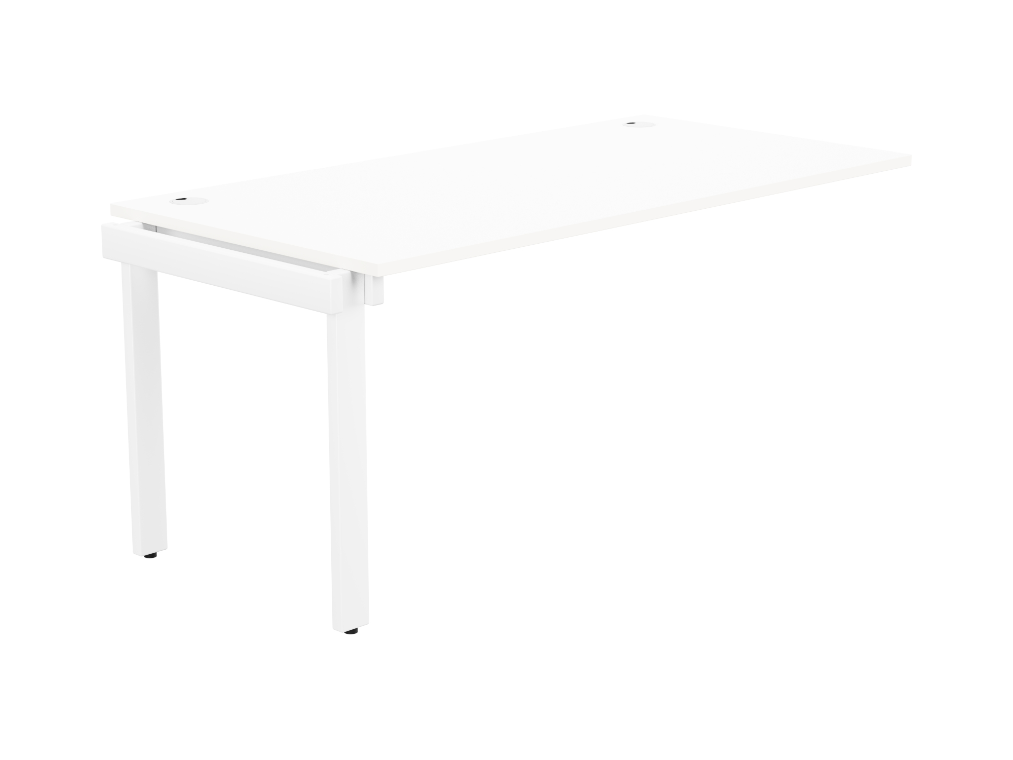 Switch 1 Person Bench Add-On Portal Top 1600 x 800 - White Frame / White Top