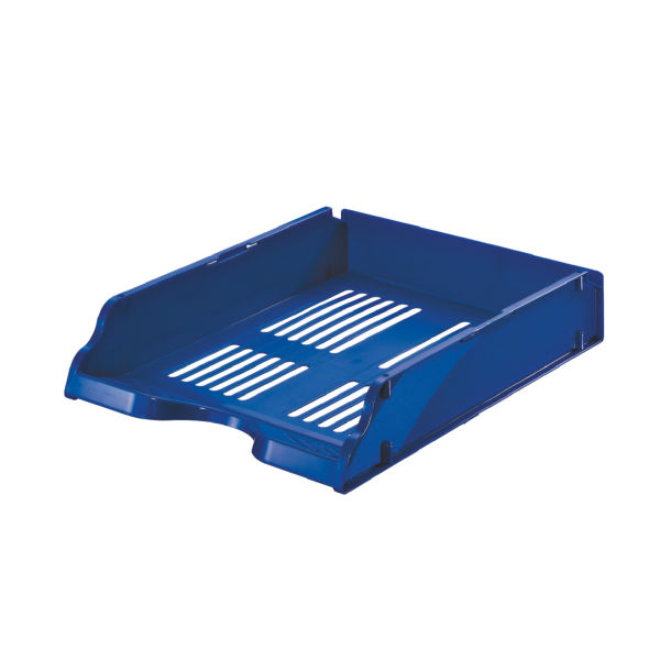 Esselte Letter Tray Transit Blue 15652