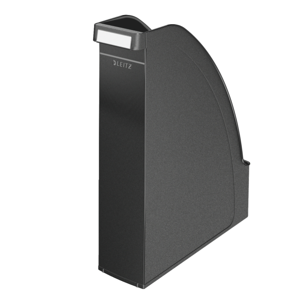 Letter Trays Leitz Plus Magazine File A4 Black 24760095