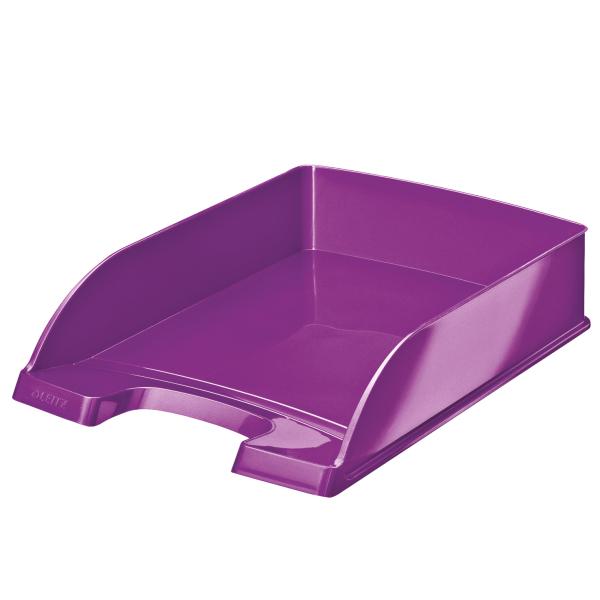 WOW Letter Tray Purple Metallic A4
