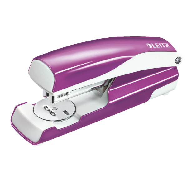 Leitz Stapler NeXXt WOW 3mm/30 Sht Prple