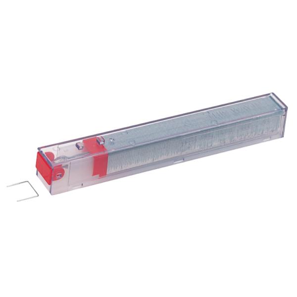 Staples Leitz Heavy Duty Staples Cart 26/12 Red (Box 1050) PK5