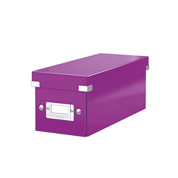 Leitz Click & Store CD Storage Box Purple