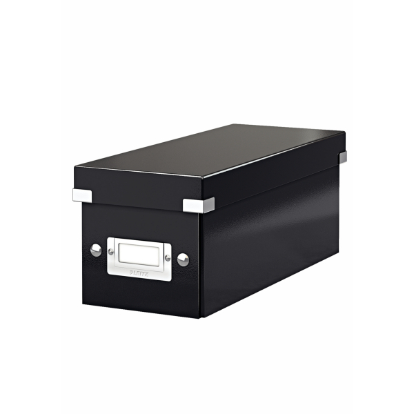 Cases Leitz Click & Store CD Storage Box Black