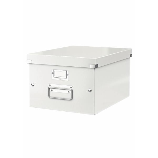 Leitz Wow Click & Store A4 Box White