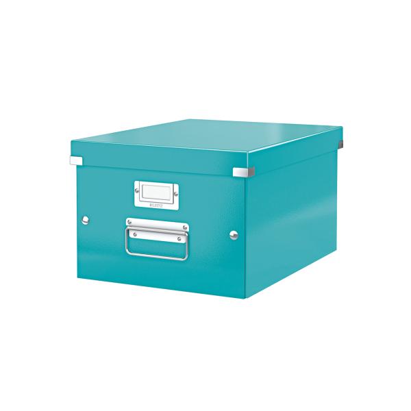 Leitz Click & Store Storage Box Medium Ice Blue