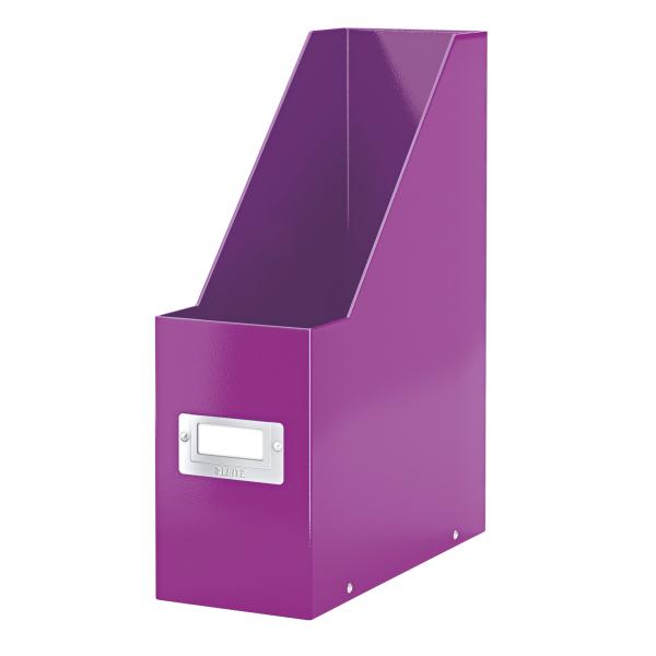 Leitz WOW C&S Mag File Purple 60470062