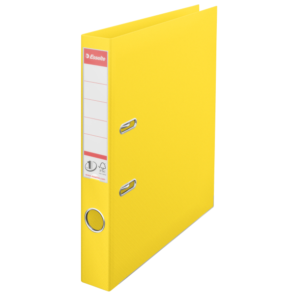 Esselte FSC L/A A4 40 Pvc Yellow 811410
