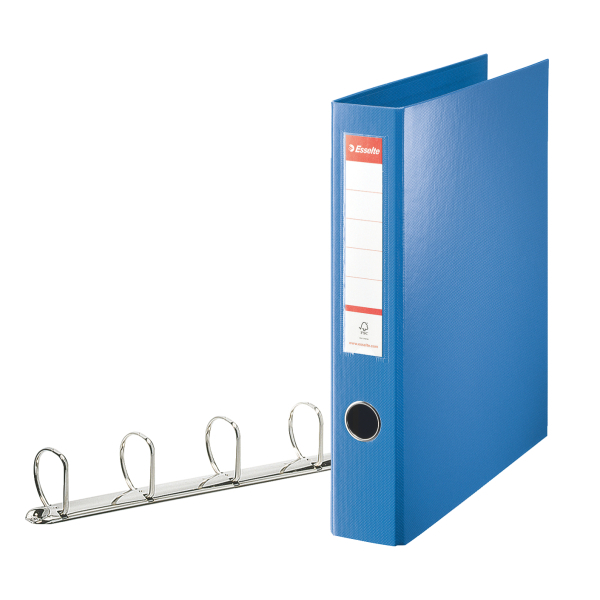 Image for Esselte Blue 4D-Ring Maxi A4 Binder