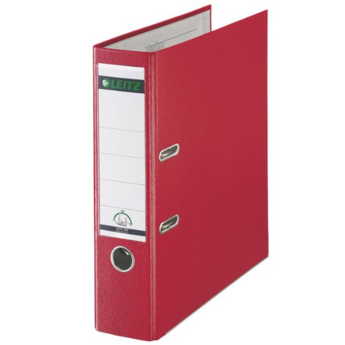 Leitz 180 Red Lever Arch File Pk10