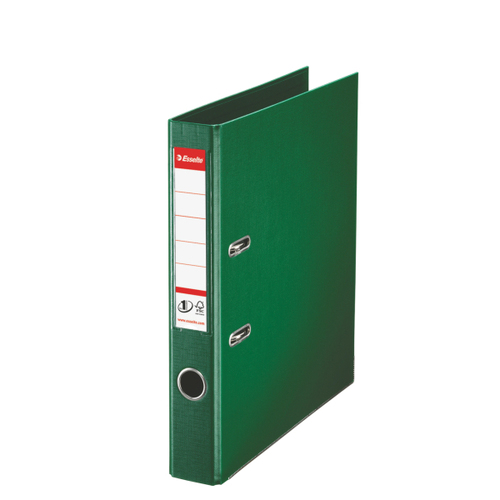 Lever Arch Files Esselte No1 Power Lever Arch Polyprop A4 50mm Green PK10