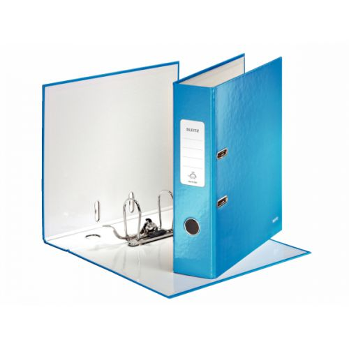 Leitz Wow Lever Arch File A4 80mm Blue PK10