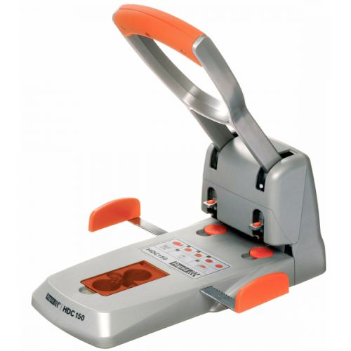 Rapid HDC150/2 Heavy Duty Stapler Silver/Orange 23000600