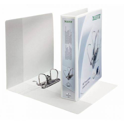 Leitz Presentation Lever Arch A4 52mm White PK10