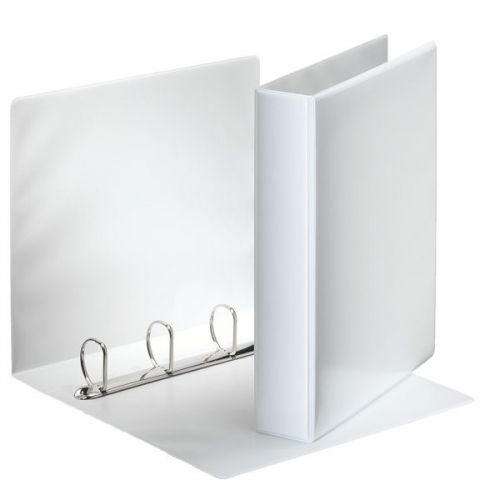 Esselte Presentation Binder 4-DRing 40mm A4 White PK10