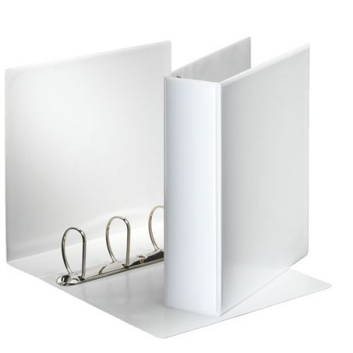 Esselte 60mm 4 D-Ring Presentation Binder A4 White 49706