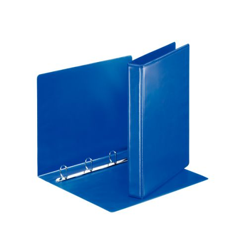 Esselte FSC Presentation Ring Binder Polypropylene 4 D-Ring 25mm A4 Blue Ref 49732 [Pack 10]
